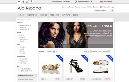 25 Free and Premium Magento Themes for Your Online Store | Ginva