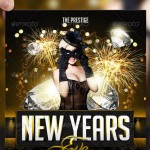 Awesome 2013 New Year Event Flyer Templates