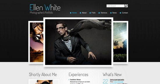 Download 40 Free CSS Templates