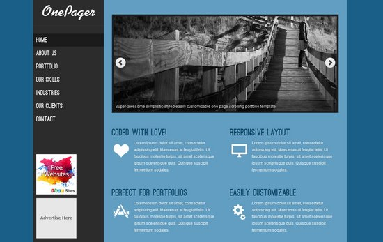 Download 40 free css templates ginva for Html table css template
