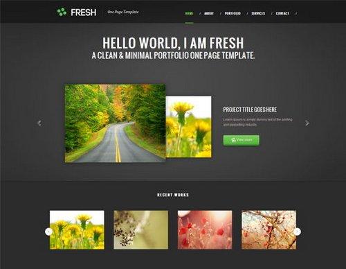 40  free portfolio templates design  css  html