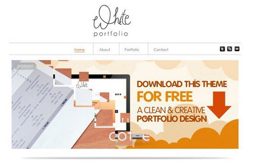free portfolio templates 16