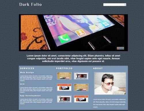 free portfolio templates 28