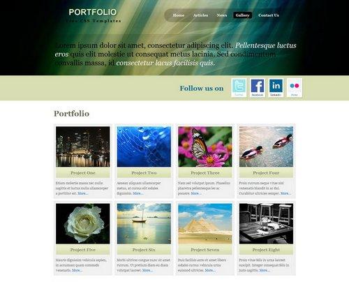 free portfolio templates 37