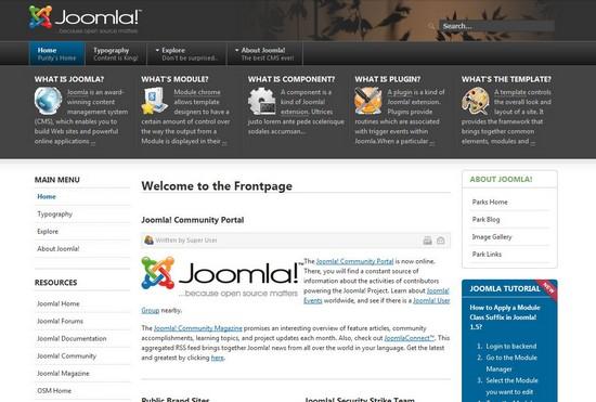 30 free and premium responsive joomla templates - Free Responsive Joomla Templates