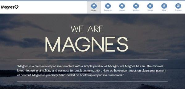 25+ Parallax Website Design (Examples & WordPress Themes) | Ginva