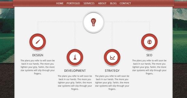 Parallax WordPress Themes