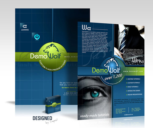 Modern Brochure Design Modern Brochure Template Flyer Design Vector
