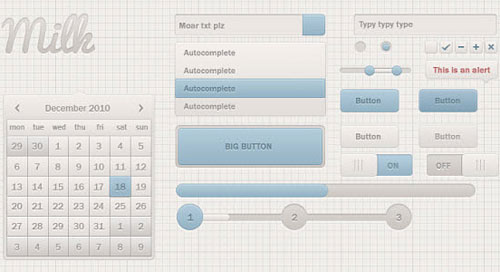 20 Free Web User Interface Design (UI Kits)