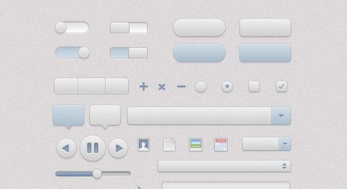 Free Web User Interface Design (UI Kits)