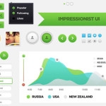 20 Free Web & Mobile User Interface Design (UI Kits)