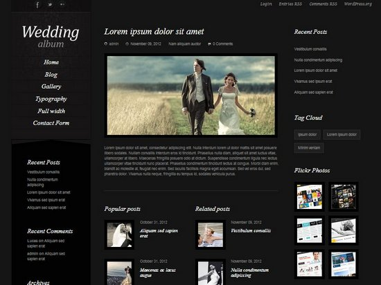 videographer website templates