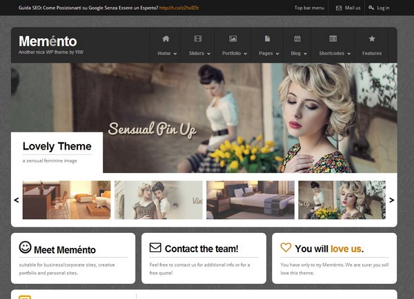 25 free and premium portfolio website template ginva