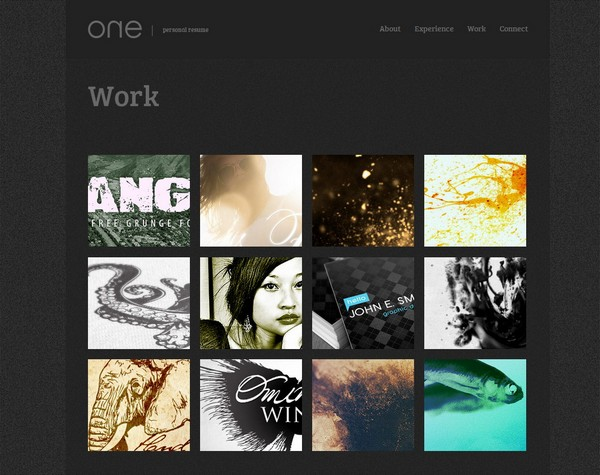 25 free and premium portfolio website template ginva for Free portfolio website templates