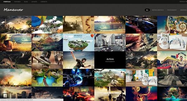 25 free and premium portfolio website template ginva free and premium csshtml portfolio template toneelgroepblik Image collections