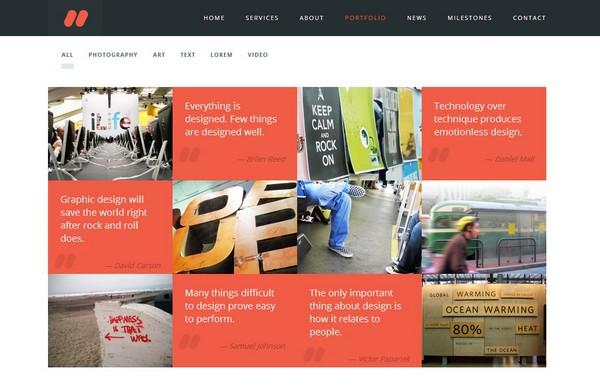 25 Free and Premium Portfolio Website Template | Ginva