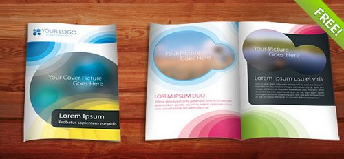Free ReadyPrint Brochure Templates Ginva - One page brochure template free