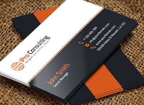 Fresh And Free Business Card Templates Ginva - It business cards templates