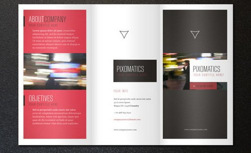 10 free ready print brochure templates ginva for Company brochure template free download