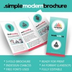 10 Free Ready-Print Brochure Templates