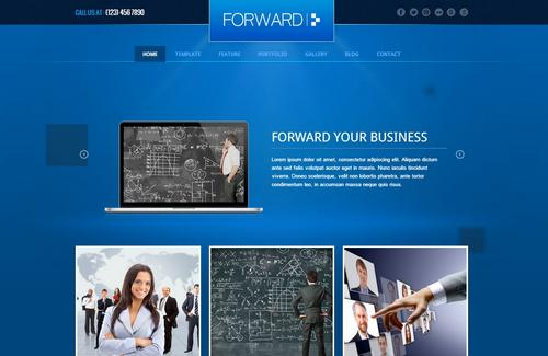 40 free and premium csshtml business templates ginva forward professional responsive business html template wajeb Image collections