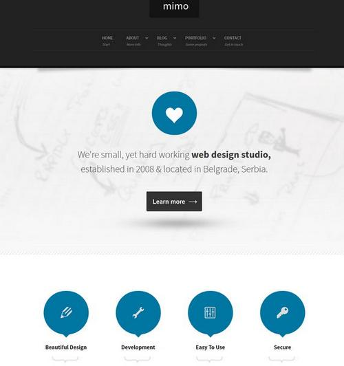 40 free and premium csshtml business templates ginva 36 mimo flashek Image collections