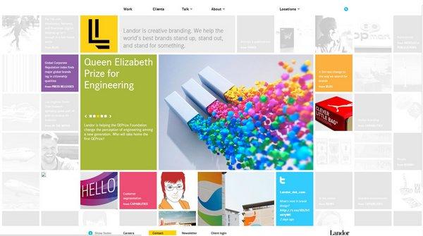 21 Inspiring Grid-Based Website Design   Ginva
