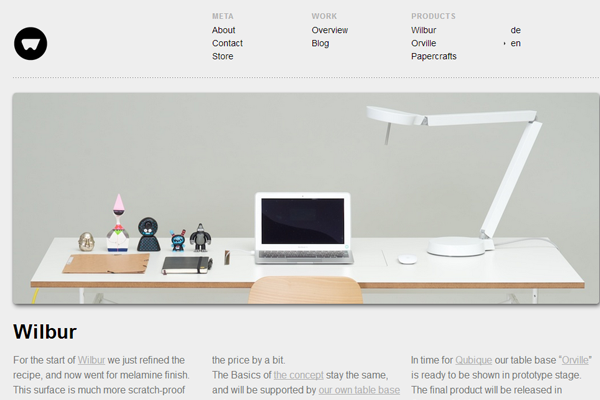 Minimalist Web Design - portfolio layout minimalist website design inspiration