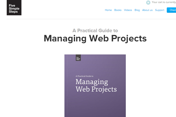 Minimalist Web Design - simple steps managing websites book layout