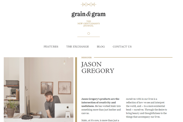 Minimalist Web Design - minimal website design interface layout grains