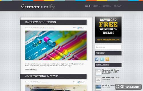 100 Best & Free Wordpress Blog Themes | Ginva