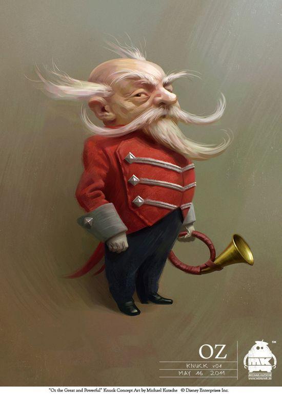 Character Design Examples : Stunning character design by michael kutsche ginva