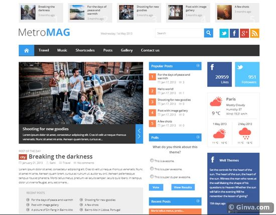 free joomla magazine templates download