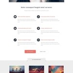 Free Responsive Portfolio Web Template: Escape Velocity