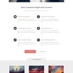 Free Responsive Portfolio Web Template: Escape Velocity