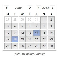 jdPicker jQuery date picker