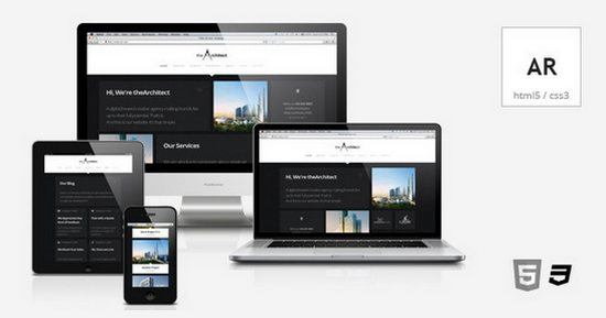 theArchitect Responsive Retina-Ready HTML5