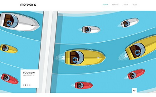 11 illustration web design