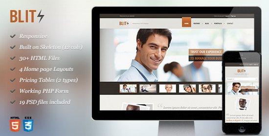 Blitz - Responsive HTML Template