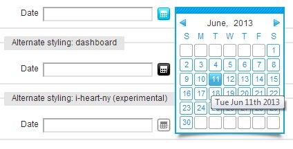 Calendar Javascript Mootools
