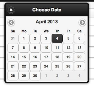 jQuery Mobile DateBox