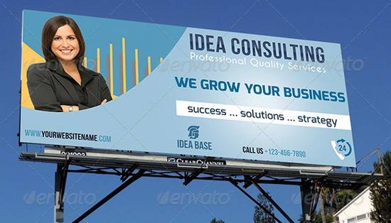 Corporate Business Billboard Template