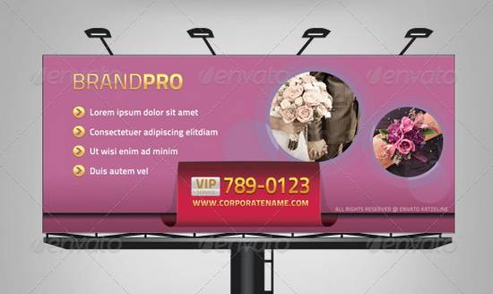 Multipurpose Corporate Billboard - Glossy Label