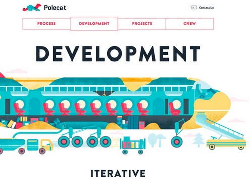 26 illustration web design