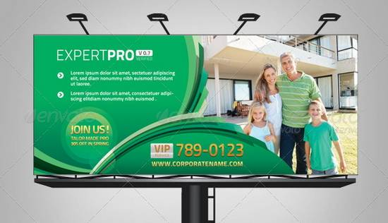 Pro Branding Corporate Billboard Template