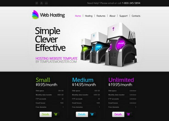 Free Hosting Corporate Website