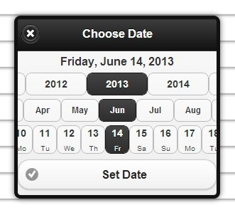 Date and Time Picker plugin