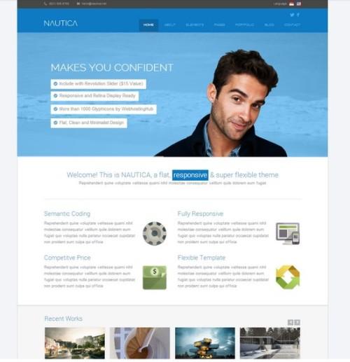 35 Free and Premium Professional HTML/CSS Corporate Templates | Ginva
