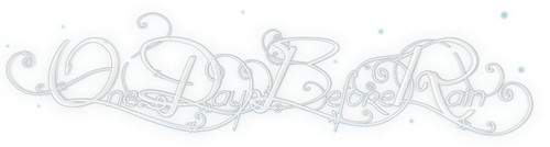 One Day Before Rain Free Calligraphy Fonts