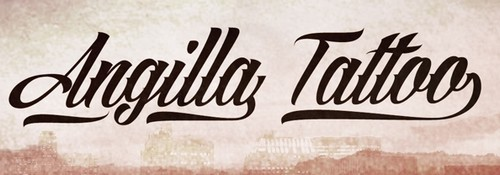 Angilla Tattoo Free Calligraphy Fonts